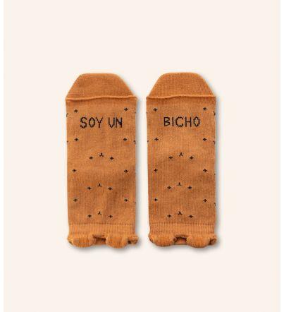 """Mini Calcetines """"Soy un bicho"""""""
