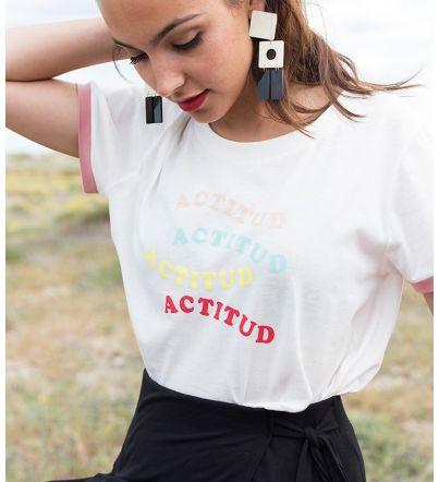 """Camiseta """"Actitud"""""""