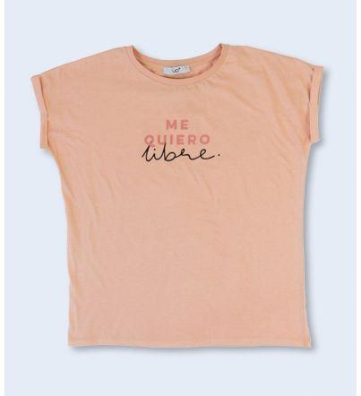 """Camiseta """"Me quiero libre"""""""