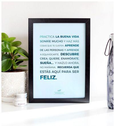 "Lámina ""Buena Vida"""