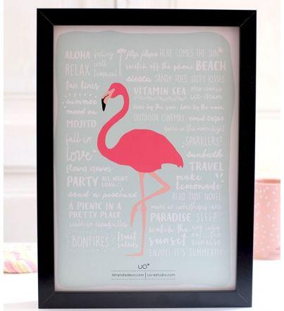 """Lámina """"Flamingo"""""""