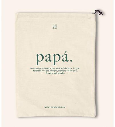 """Bolsa Tela Regalo """"Papá..."""