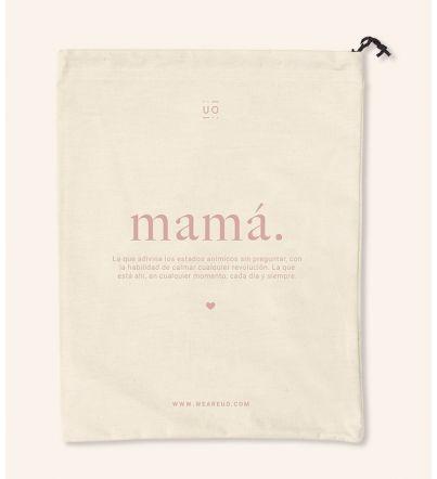 "Bolsa tela regalo ""Mamá...."