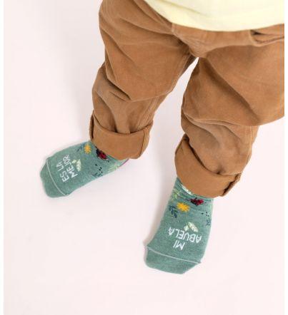"""Mini calcetines """"Mi abuela..."""