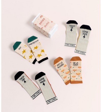 "Pack Mini Calcetines ""Family """