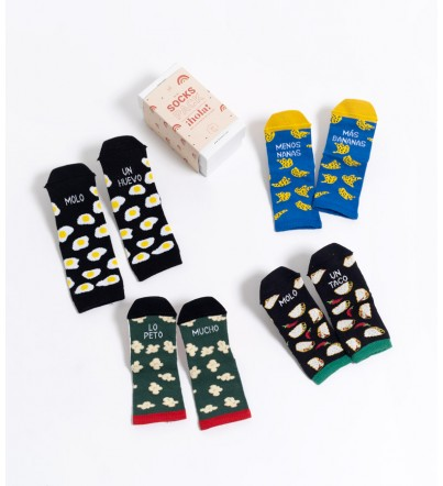 "Pack Mini Calcetines ""Foddie"""