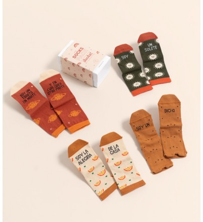 "Pack Mini Calcetines ""HOLA..."