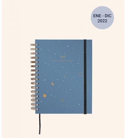 """Agenda """"Luna"""" Día Página 2022"""