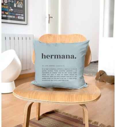 "Funda Cojín ""Hermana...."
