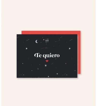 "Postal ""Te quiero"""