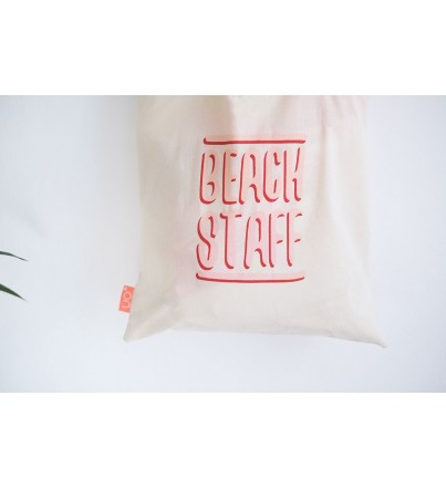 "Tote Bag ""Beach Staff"""