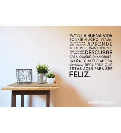 """Vinilo """"La Buena Vida"""""""