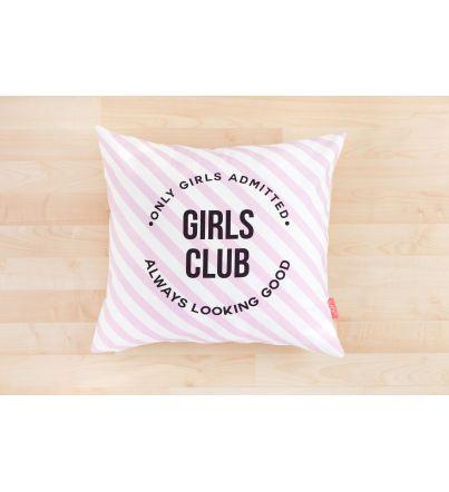 "Funda Cojín ""Girls Club"""