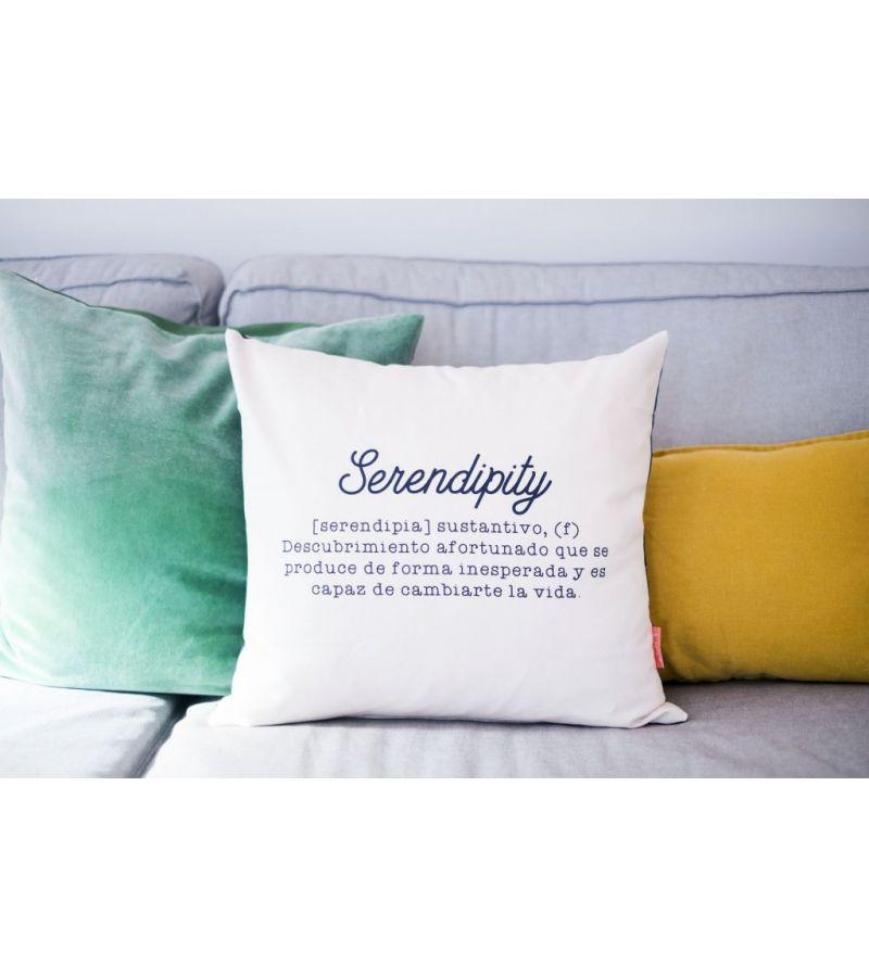 "Funda cojín ""Serendipity Definición"""