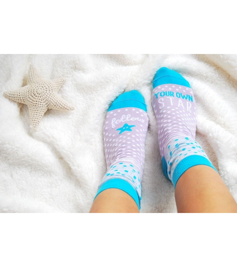 """Calcetines """"Follow your own star"""""""