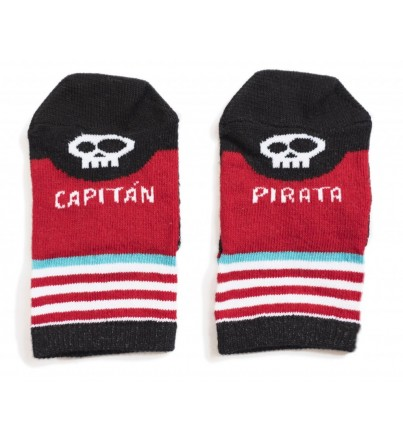 "Mini - Calcetines ""Capitán Pirata"""