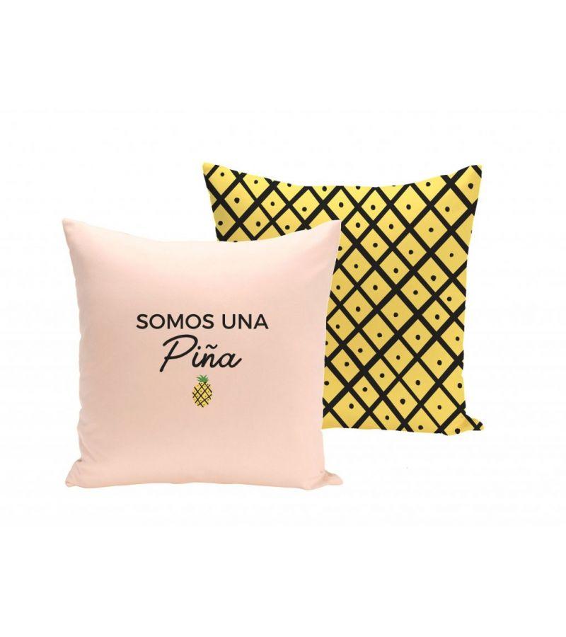"""Funda Cojín """"Somos una piña"""