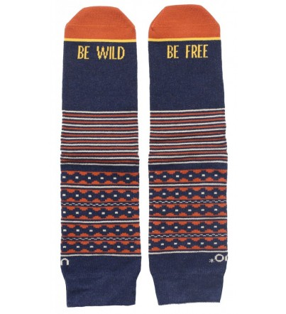 "Calcetines ""Be wild, Be free"""