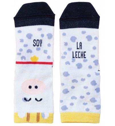 """Mini - Calcetines """"Soy la leche"""""""