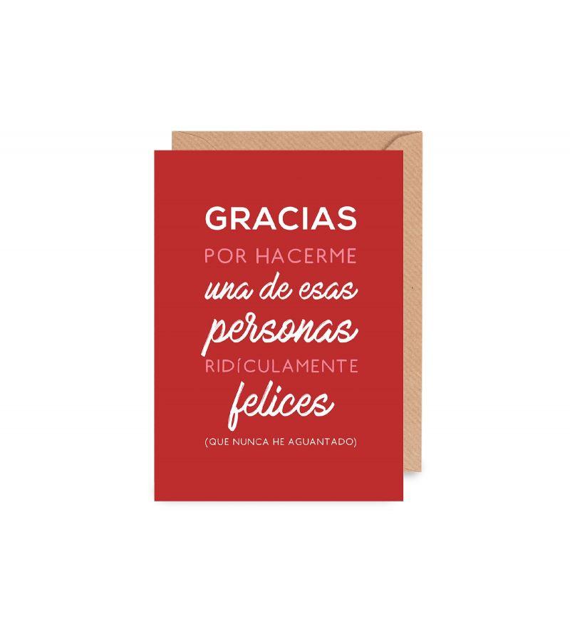 """Lámina """"Gracias"""""""