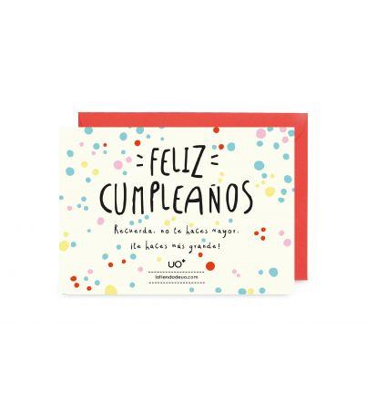 "Postal Cumpleaños ""Feliz Cumpleaños"""