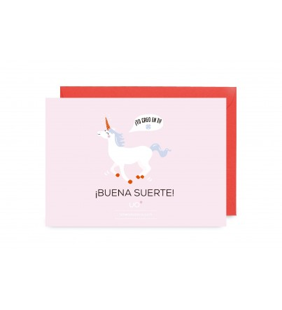 "Postal ""Buena Suerte"""