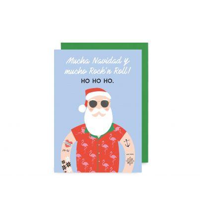 """Postal """"Papá Noel"""""""