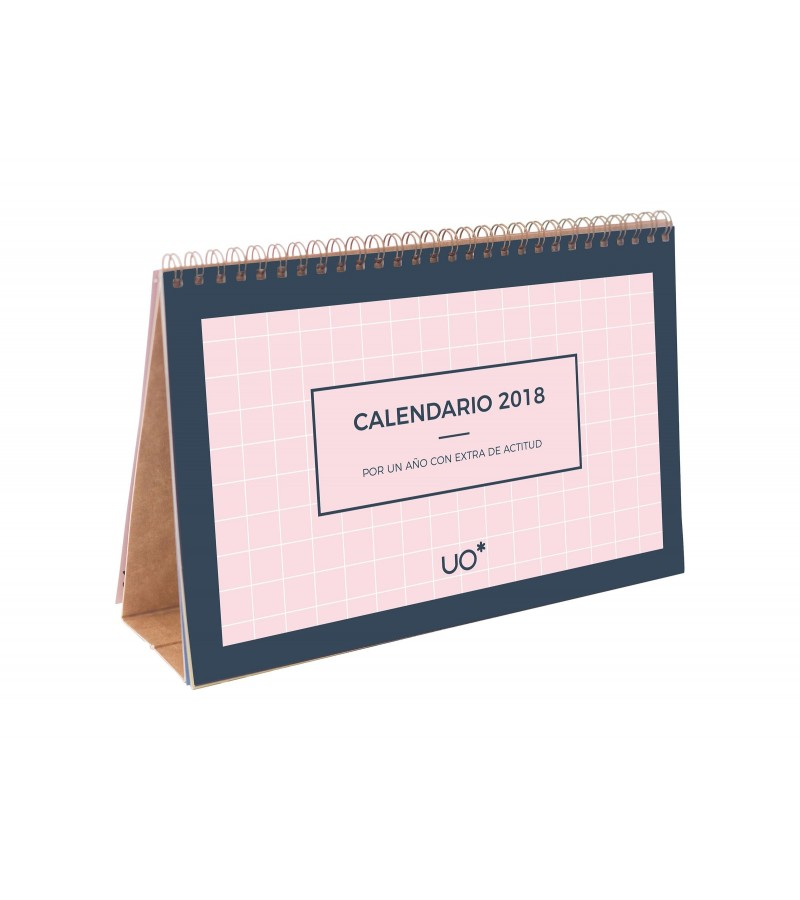 """Calendario de mesa """"Actitud"""" 2018"""