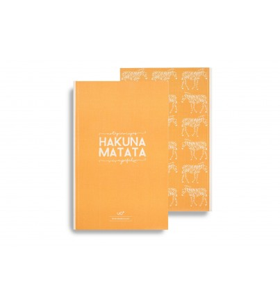"Libreta ""Hakuna Matata"""