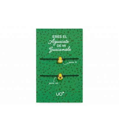 "Pack Pulseras charm ""Aguacate"""