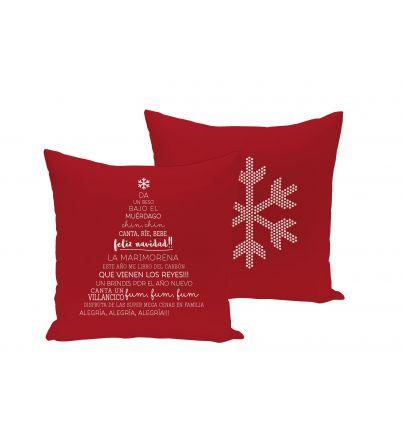 "Funda cojín: ""Navidad, árbol"""