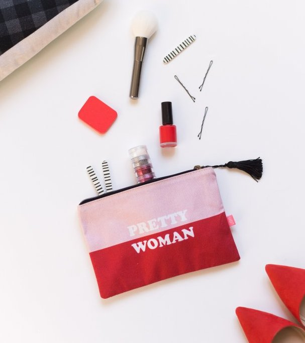 "Estuche de tela ""Pretty Woman"""