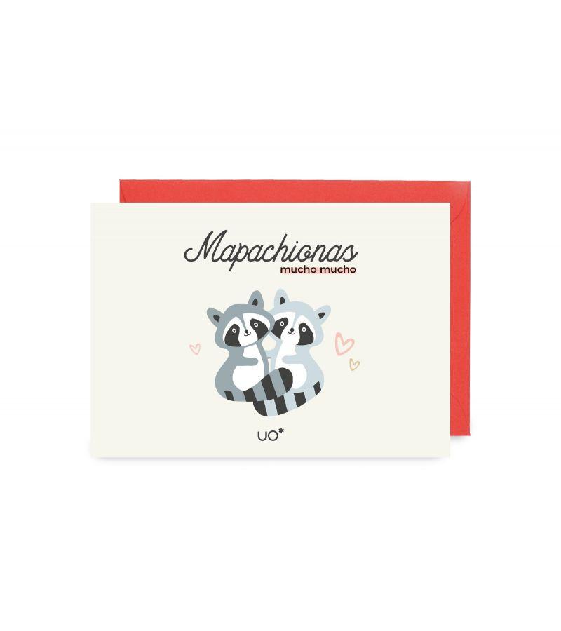 "Postal ""Mapachionas"""