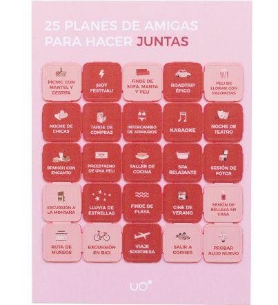 "Postal ""25 planes, friends"""