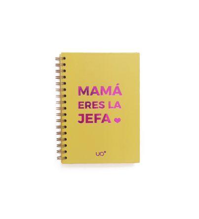 "Libreta ""Mamá eres la jefa"""