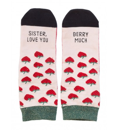 "Calcetines ""Sister, love you berry much"""